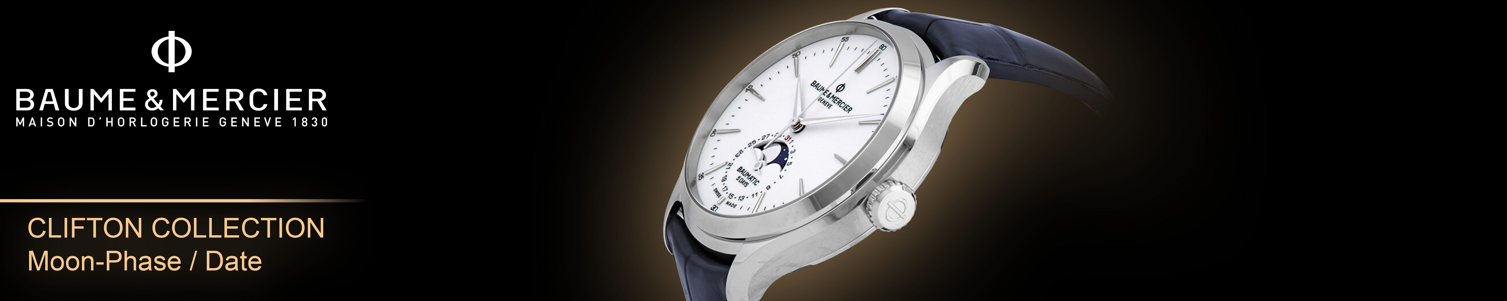Clifton Baumatic Moon-Phase / Date