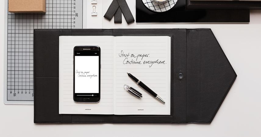 Novo - Montblanc Augmented Paper