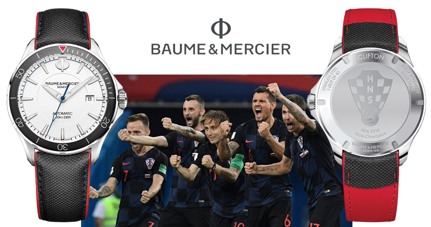 NOVO - Limited Edition Baume & Mercier HNS Fifa World Cup 2018