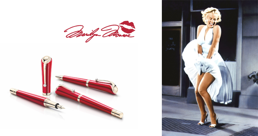 Montblanc Muses Marilyn Monroe Special Edition
